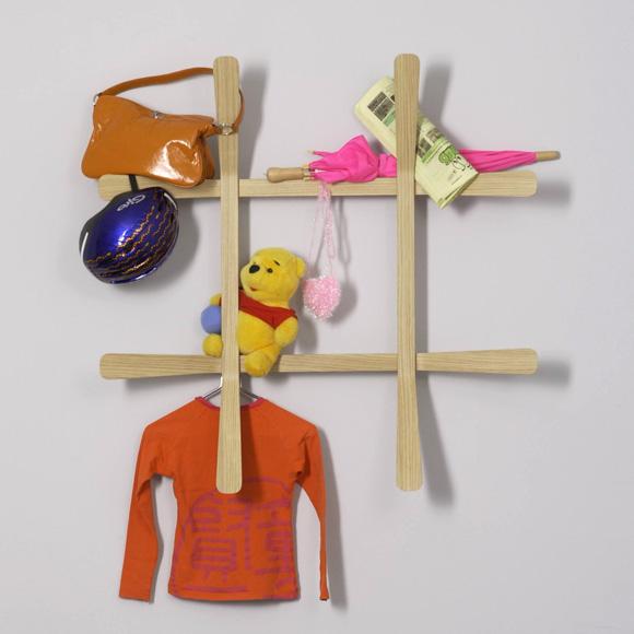 MOX LILI wall-mounted coat rack