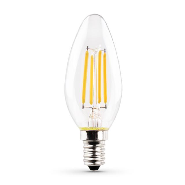 MÜLLER-LICHT LED Filament B35 E14, clear