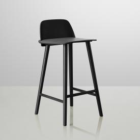 Muuto Nerd low bar stool