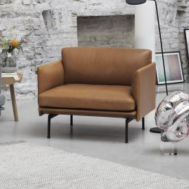 Muuto Outline armchair, real leather