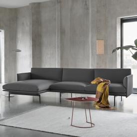 Muuto Outline corner sofa with chaiselongue left