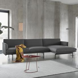 Muuto Outline corner sofa with chaiselongue right