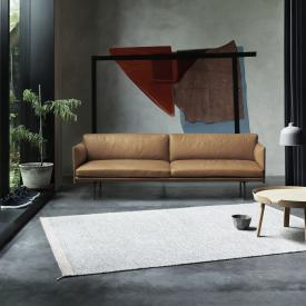Muuto Outline sofa, real leather