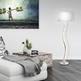 Näve Curve LED floor lamp