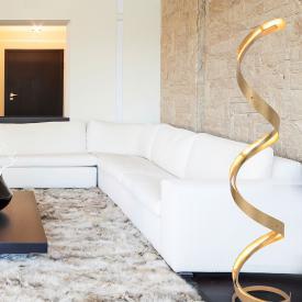 Näve Dubai LED floor lamp with dimmer