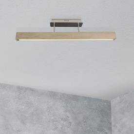 Näve Wood LED ceiling light