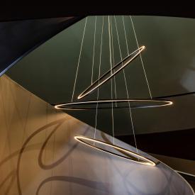 NEMO ELLISSE TRIPLE LED pendant light