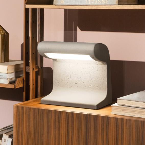 NEMO BORNE BÉTON PETIT INDOOR table lamp with dimmer