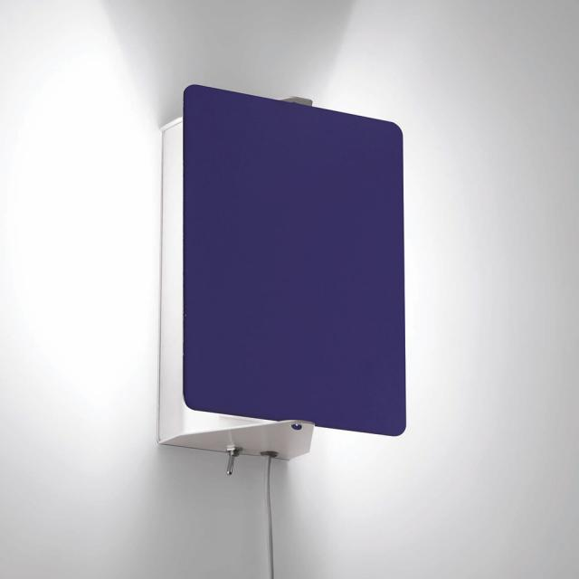 NEMO APPLIQUE À VOLET PIVOTANT HALO wall light with on/off switch