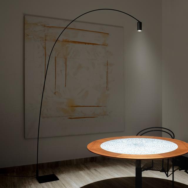 NEMO FOX LED floor lamp with dimmer