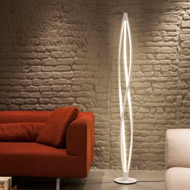 NEMO IN THE WIND FLOOR LED floor lamp with dimmer