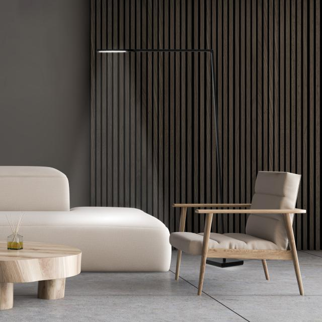 NEMO UNTITLED LINEAR LED floor lamp with dimmer