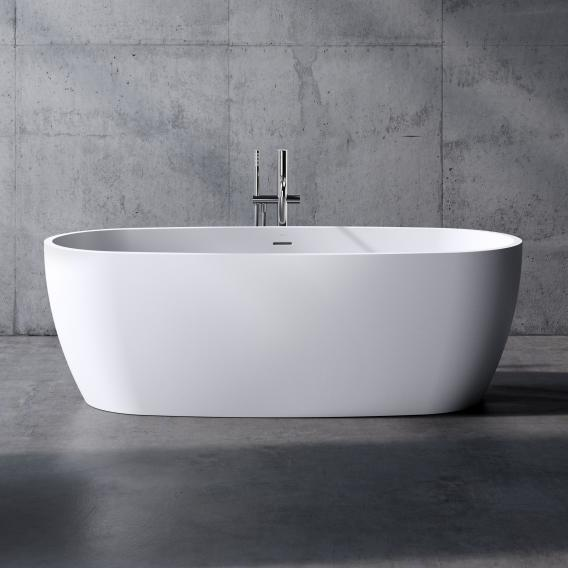 neoro n80 freestanding bath L: 180 W: 80 H: 59.7 cm, with easy-care surface