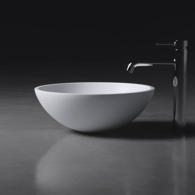 neoro n50 countertop washbasin Ø 40 H: 15 cm, with easy-care surface
