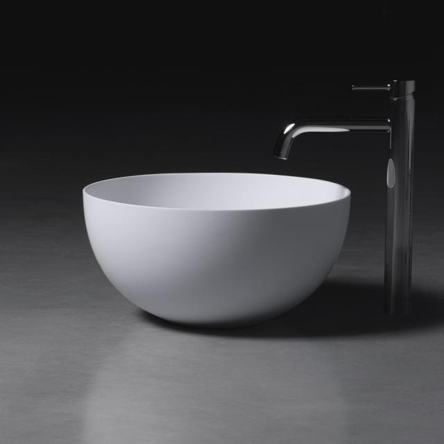 neoro n50 countertop washbasin Ø 45 H: 22 cm, with easy-care surface