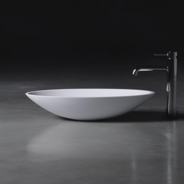 neoro n50 countertop washbasin W: 58 H: 12 D: 42 cm, with easy-care surface