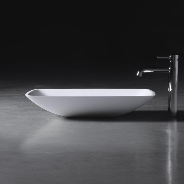 neoro n50 countertop washbasin W: 63 H: 12 D: 42 cm, with easy-care surface