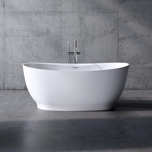 neoro n50 freestanding bath L: 150 W: 76 H: 60 cm, with easy-care surface