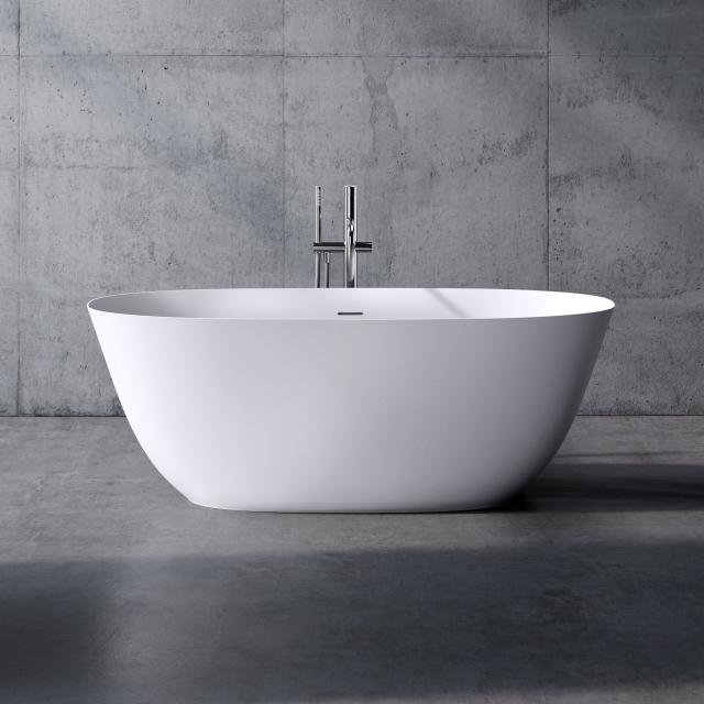 neoro n50 freestanding bath L: 160 W: 70 H: 58 cm, with easy-care surface