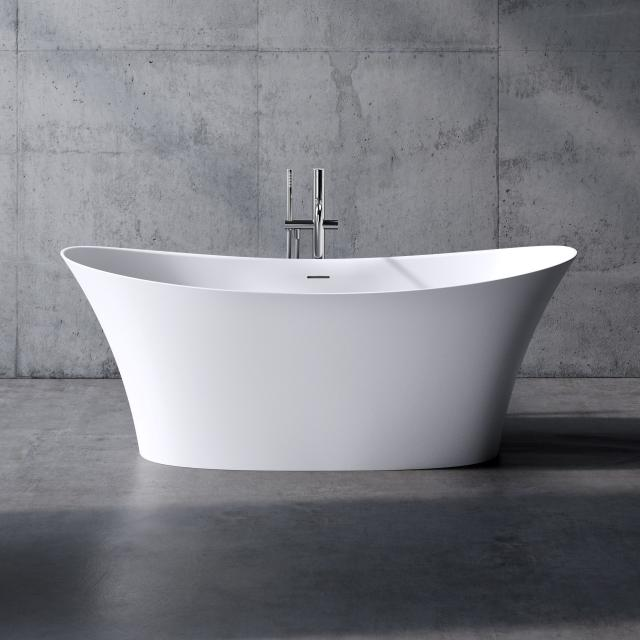 neoro n50 freestanding bath L: 173 W: 85 H: 66.5 cm, with easy-care surface