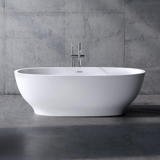 neoro n50 freestanding bath L: 175 W: 80 H: 55 cm, with easy-care surface