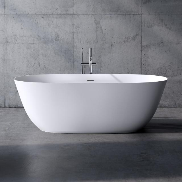 neoro n50 freestanding bath L: 180 W: 80 H: 58 cm, with easy-care surface