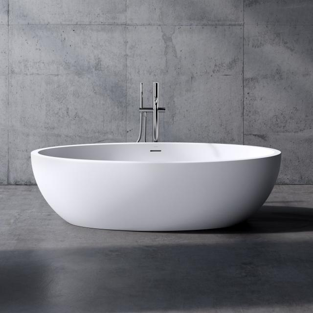 neoro n70 freestanding bath L: 170 W: 90 H: 47 cm, with easy-care surface