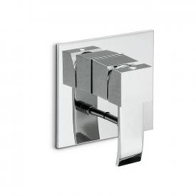 newform d-sign 62070E concealed, single lever bath mixer with diverter brushed chrome