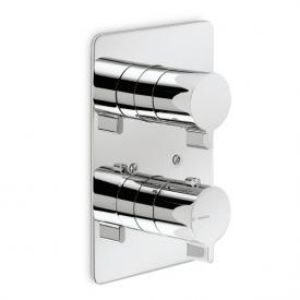 Newform libera 65764 concealed thermostat with stop-valve chrome