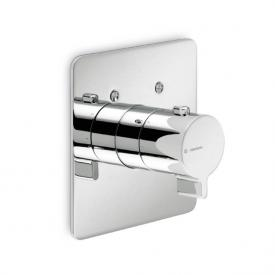 Newform libera 65768 concealed shower thermostat chrome