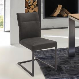 Niehoff 3071 cantilever chair, genuine leather