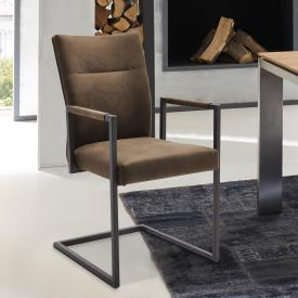 Niehoff 3071 cantilever chair with armrests