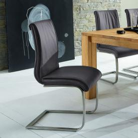 Niehoff 6651 cantilever chair, imitation leather