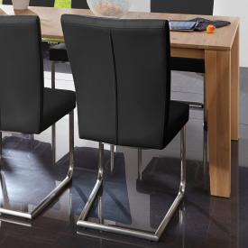 Niehoff LEONARDO cantilever chair, round steel frame