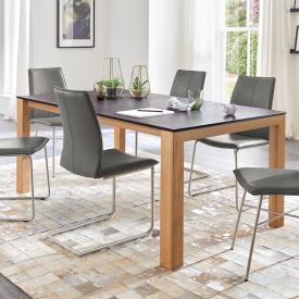 Niehoff MONTANA extendable table, ceramic