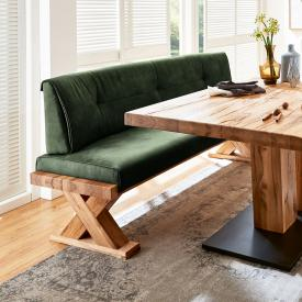 Niehoff ALEXA single bench, real leather