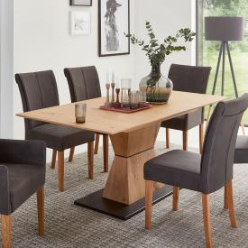 Niehoff SKYLINE dining table with pull-out