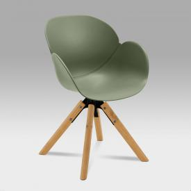 Niehoff SUSHI chair with armrests and swivelling base