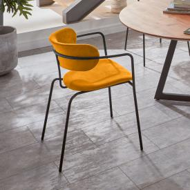 Niehoff TAKE OFF stacking chair with armrests