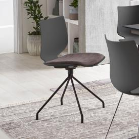 Niehoff TULA chair with base frame and seat pad