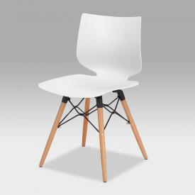Niehoff TULA chair with solid wood base