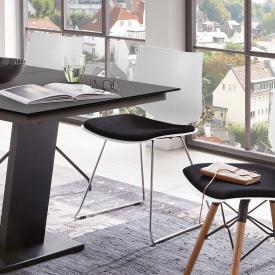Niehoff TULA chair with runners and seat pad