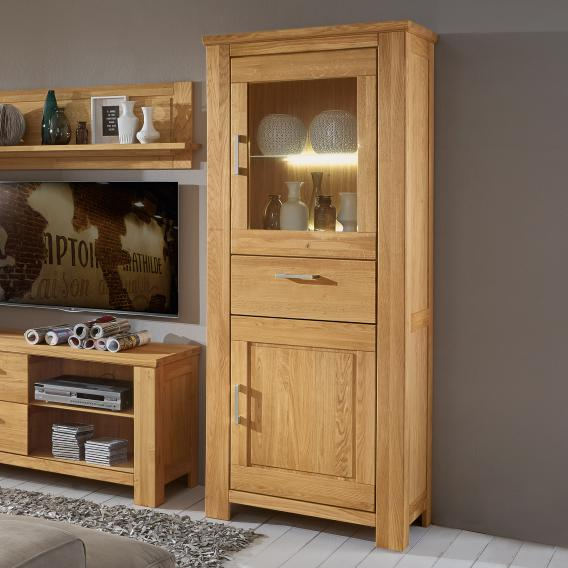 Niehoff CASA-nova display case with hinge on the right
