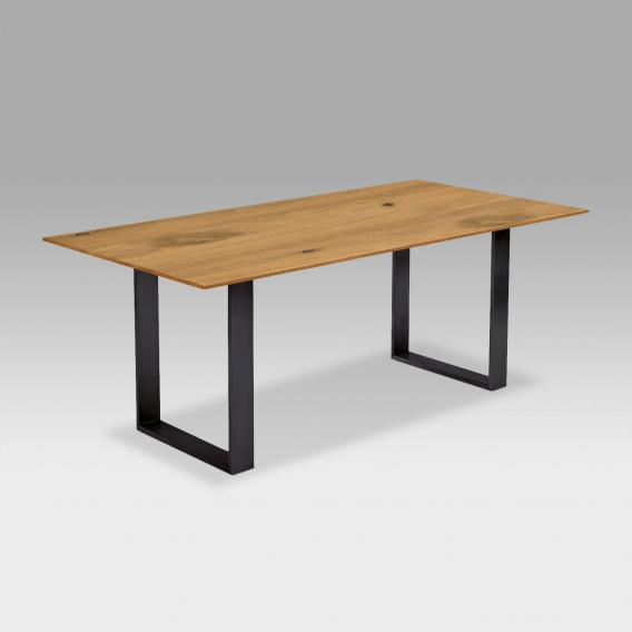 Niehoff OAK-EDITION CUBIC dining table with runners