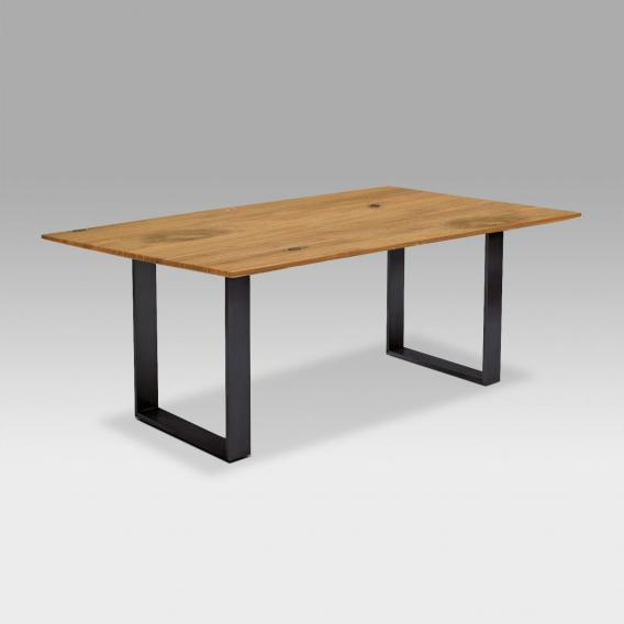 Niehoff OAK-EDITION FACETTE dining table with runners