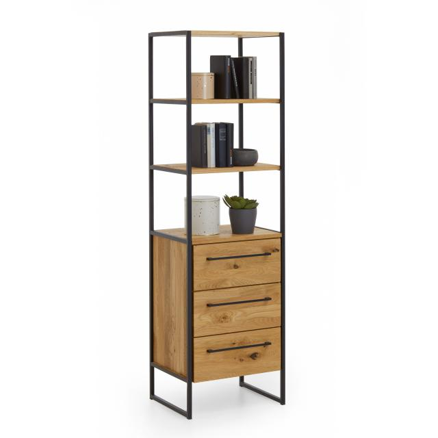Niehoff ATELIER rack with 5 shelves with 3 drawers