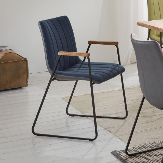Niehoff TIME designer chair with armrests