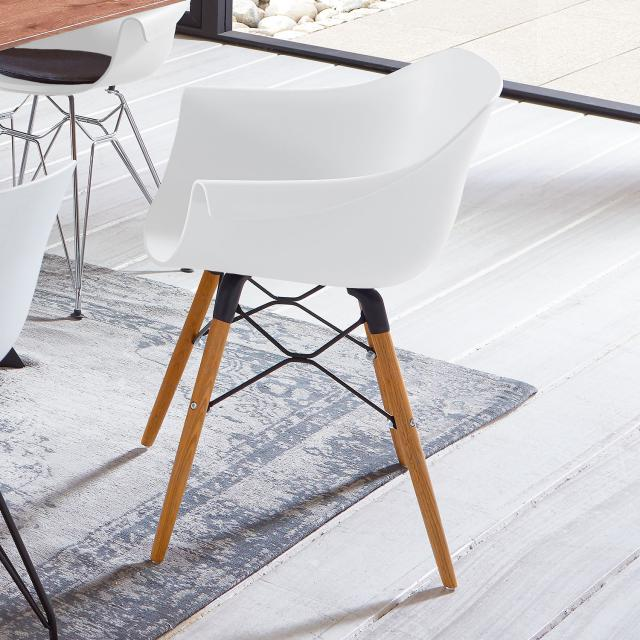 Niehoff TULIP chair with armrests