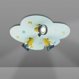 Niermann Standby Babyline ceiling light/spotlight 3 headed