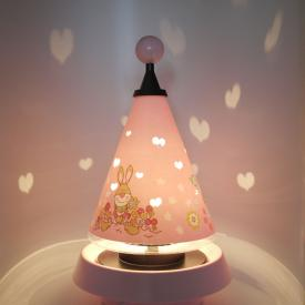 Niermann Standby Bungee Bunny Carrousel table lamp
